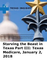 Starving the Beast in Texas Part III: Texas Medicare