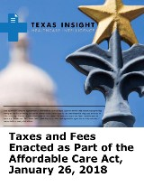 Taxes and Fees Enacted as Part of the Affordable Care Act