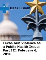 Texas Gun Violence as a Public Health Issue: Part III