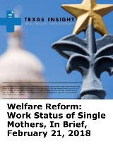 Welfare Reform: Work Status of Single Mothers, In Brief