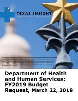 Department of Health and Human Services: FY2019 Budget Request