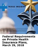 Federal Requirements on Private Health Insurance Plans