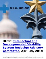 HHSC: Intellectual and Developmental Disability System Redesign Advisory Committee