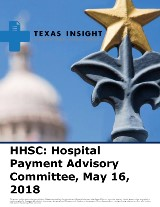 HHSC: Hospital Payment Advisory Committee