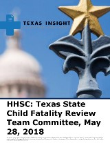 HHSC: Texas State Child Fatality Review Team Committee
