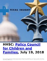 HHSC: Policy Council for Children and Families