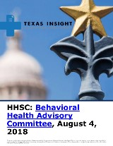 HHSC: Behavioral Health Advisory Committee