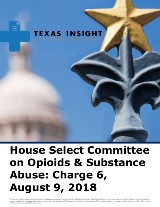 House Select Committee on Opioids & Substance Abuse: Charge 6