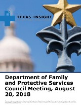 Department of Family and Protective Services Council Meeting