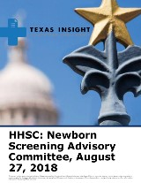 HHSC: Newborn Screening Advisory Committee