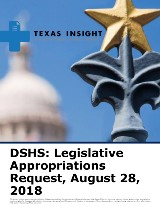 DSHS: Legislative Appropriations Request FY2020-2021