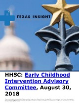 HHSC: Early Childhood Intervention Advisory Committee