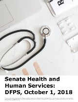 Senate Health and Human Services: DFPS