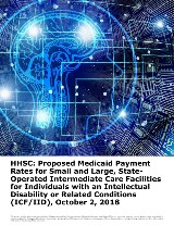 HHSC: Proposed Rates for State-Operated Intermediate Care Facilities