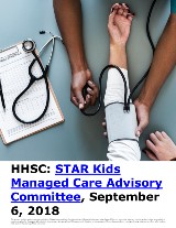 HHSC: STAR Kids Managed Care Advisory Committee