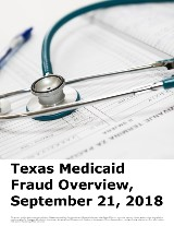 Texas Medicaid Fraud Overview
