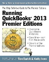 Running QuickBooks® 2013 Premier Editions