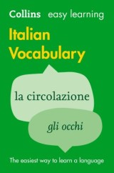 Easy Learning Italian Vocabulary: Trusted support for learning (Collins Easy Learning)