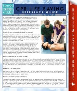 CPR Lifesaving Reference Guide (Speedy Study Guide)