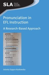 Pronunciation in EFL Instruction