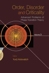 Order, Disorder And Criticality: Advanced Problems Of Phase Transition Theory - Volume 3
