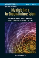 Deterministic Chaos In One Dimensional Continuous Systems