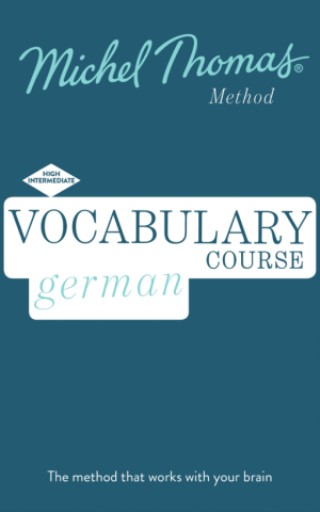 Booklet: German Vocabulary