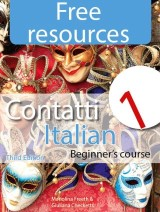 Contatti 1 Italian Beginner's: Free Resources