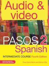Pasos 2 Spanish Intermediate Course: Audio and Video