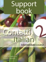 Support Book: Contatti 2 Italian Intermediate Course