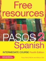 Free Resources: Pasos 2 Spanish Intermediate Course 4th Edition