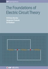 The Foundations of Electric Circuit Theory