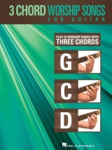 3-Chord Worship Songs for Guitar (Songbook)
