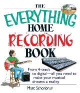 The Everything Home Recording Book