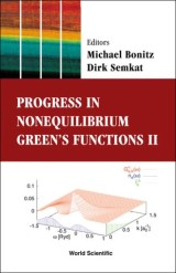 Progress In Nonequilibrium Green's Functions Ii - Proceedings Of The Conference