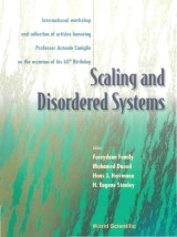 Scaling And Disordered Systems: International Workshop And Collection Of Articles Honoring Professor Antonio Coniglio On The Occasion Of His 60th Birthday
