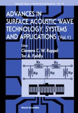 Advances In Surface Acoustic Wave Technology, Systems And Applications (Volume 1)