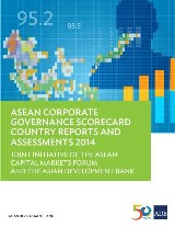 ASEAN Corporate Governance Scorecard Country Reports and Assessments 2014