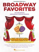 Broadway Favorites - Beginning Piano Solo Songbook