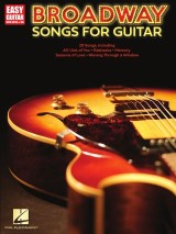 Broadway Songs For Guitar - Easy Guitar With Tab Songbook