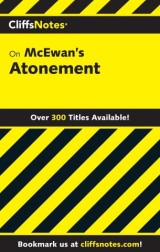 CliffsNotes on McEwan's Atonement