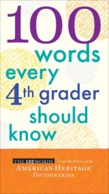 100 Words Every 4th Grader Should Know