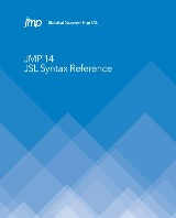 JMP 14 JSL Syntax Reference
