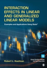 Interaction Effects in Linear and Generalized Linear Models