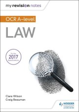 My Revision Notes: OCR A Level Law