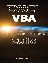 Excel Vba: Tips and Tricks 2018