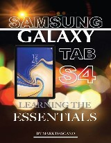 Samsung Galaxy Tab S4: Learning the Essentials