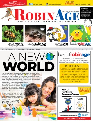 Robin Age Children's Newspaper - Free Access Now