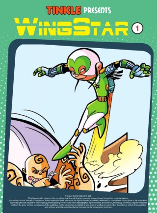 Tinkle Short Stories: Wingstar 1