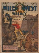 Young Wild West WIth the Cavalry  or The Fight at Bear Pass